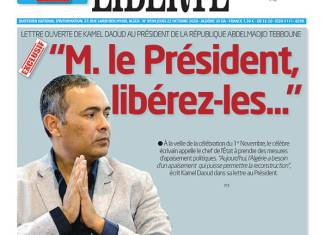 """Kamel Daoud appelle le Président à libérer """"tous les détenus d'opinion"""""""