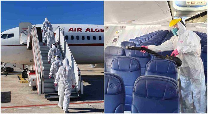Air Algérie désinfecte tous ses appareils avant la reprise des vols