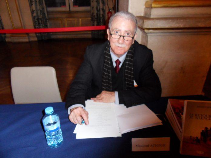 Décès de l'écrivain et journaliste Mouloud Achour