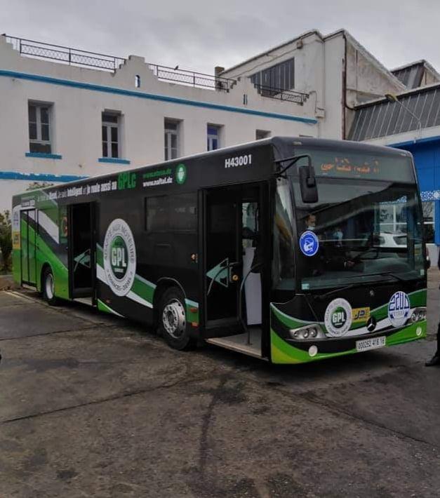 Premier bus ETUSA hybride