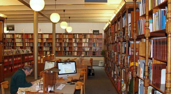 La bibliothèque Nationale d'El-Hamma