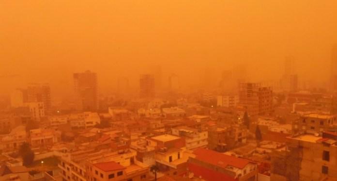 Un nouveau nuage de sable du Sahara attendu sur l'Europe