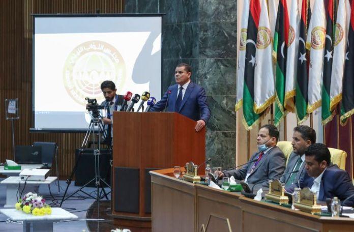 Libye: le chef du gouvernement de transition, Abdelhamid Dbeibah, prête serment