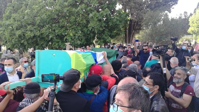 Ali Yahia Abdennour, inhumé au cimetière de Ben Aknoun à Alger