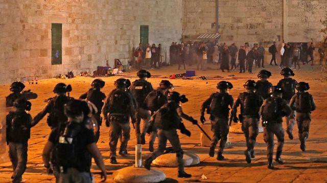 Flambée de violences contre les Palestiniens à Al Qods: plus de 180 blessés