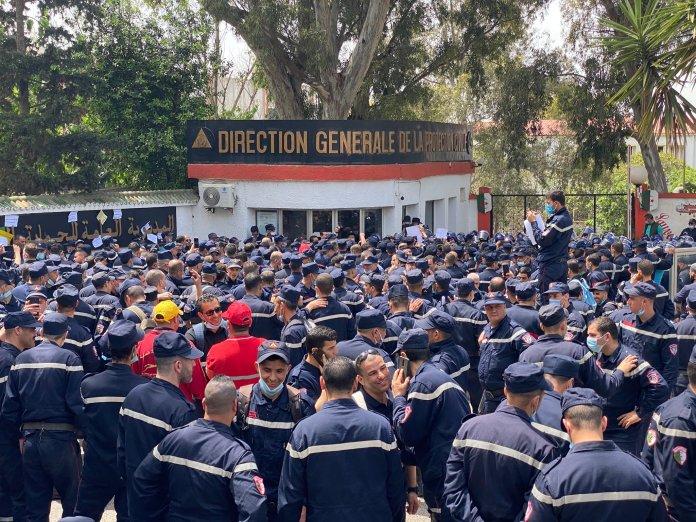 Marche des pompiers: la Direction rassure, l'Intérieur évoque des