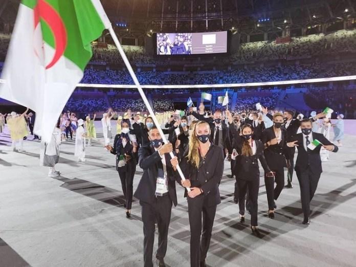 Jeux olympiques: Mohamed Flissi et Amel Melih les porte-drapeaux de la délégation algérienne