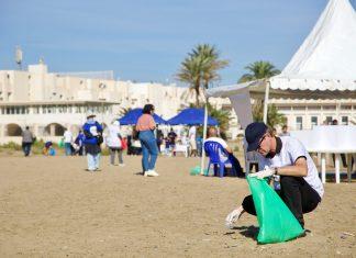 Environnement: l'UE contribue au nettoyage de la plage de Sidi Fredj à Alger