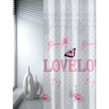Κουρτίνα Μπάνιου Υφασμάτινη Love Joy Bath - Joy Bath Accessories - love