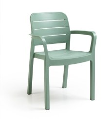 Πολυθρόνα Εξωτερικού Χώρου Tisara Spring Green - Allibert - tisara-armchair-spring-green