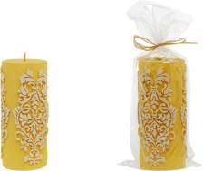 Κερί Κίτρινο Σκαλιστό - OEM - 4-ZG 04/1002_kitrino