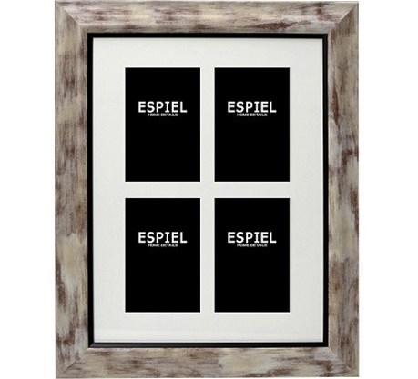 Κορνίζα Τοίχου 4 Θέσεων ESPIEL 48,5x1,5x68,5εκ. ECO340 - ESPIEL - ECO340