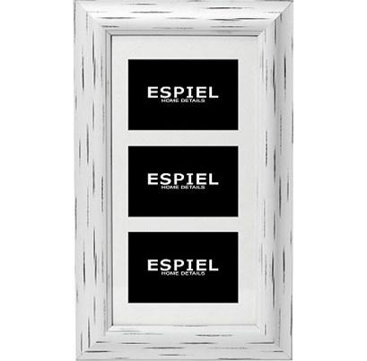 Κορνίζα Τοίχου 3 Θέσεων ESPIEL 28,5x1,5x48,5εκ. ECO347 - ESPIEL - ECO347