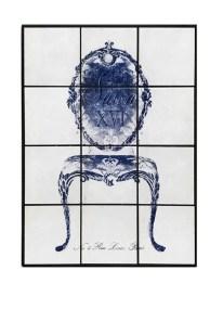 Πίνακας Με Πλακάκι Πολυθρόνα ESPIEL 63x4x84εκ. SAZ108 - ESPIEL - SAZ108