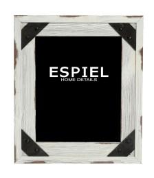 Κορνίζα Ξύλινη-Μεταλλική Espiel 28x1,5x33εκ. SOF116 - ESPIEL - SOF116