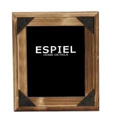 Κορνίζα Ξύλινη-Μεταλλική Espiel 21x1,5x26εκ. SOF118 - ESPIEL - SOF118