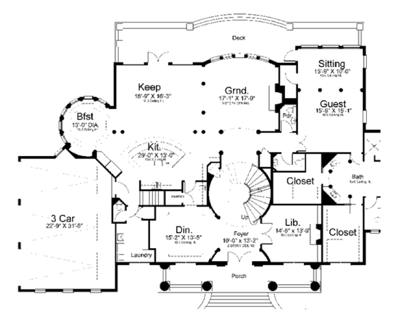 House Two Story S Diagram Decks. Wiring. Wiring Diagrams