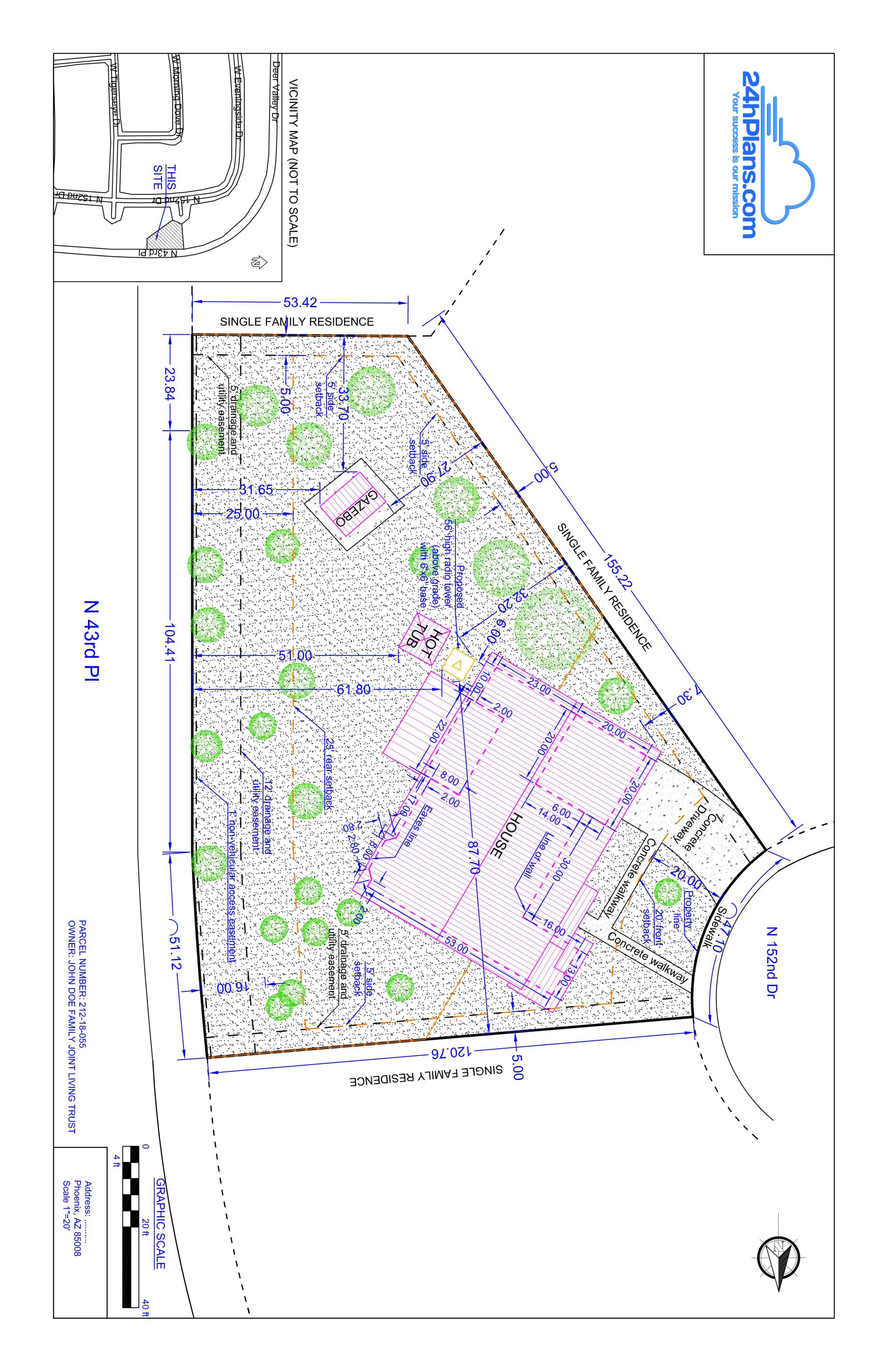 hight resolution of site plans in maricopa county az how to get your plot plan approved