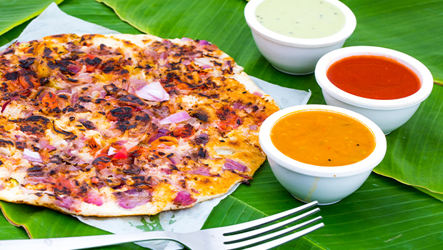 A mouth-melting meal with this amazing uttapam recipe