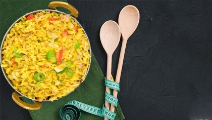 Calories in Poha How much does one plate contain