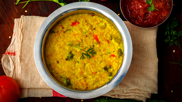 Try out this easy and tasteful dal khichdi recipe