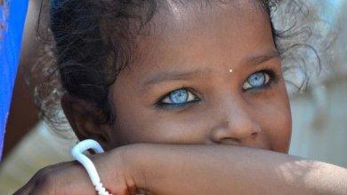 صورة طفرة جينية تجعل عيونهم الأجمل على الاطلاق (قبائل جزيرة بوتون)