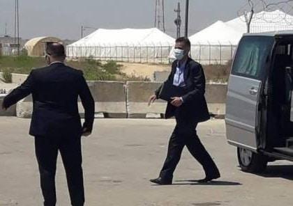 الوفد المصري يغادر قطاع غزة
