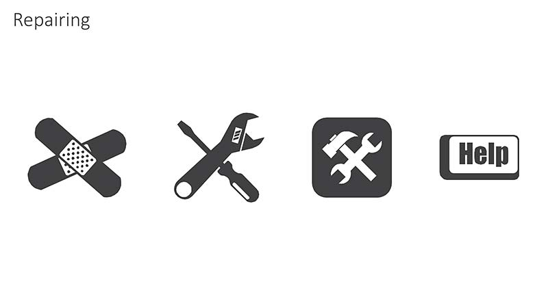 PowerPoint Icons: Editable Slides