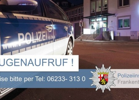 . - Foto: © Polizeidirektion Ludwigshafen
