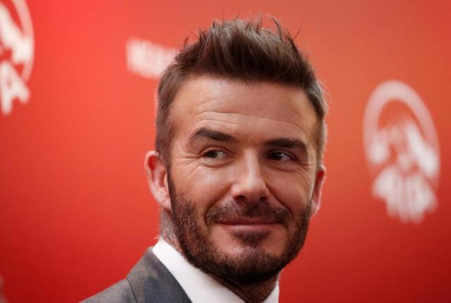FILE PHOTO: David Beckham attends an insurance company charity event in Jakarta | Autor: Beawiharta Beawiharta/REUTERS/PIXSELL/REUTERS/PIXSELL