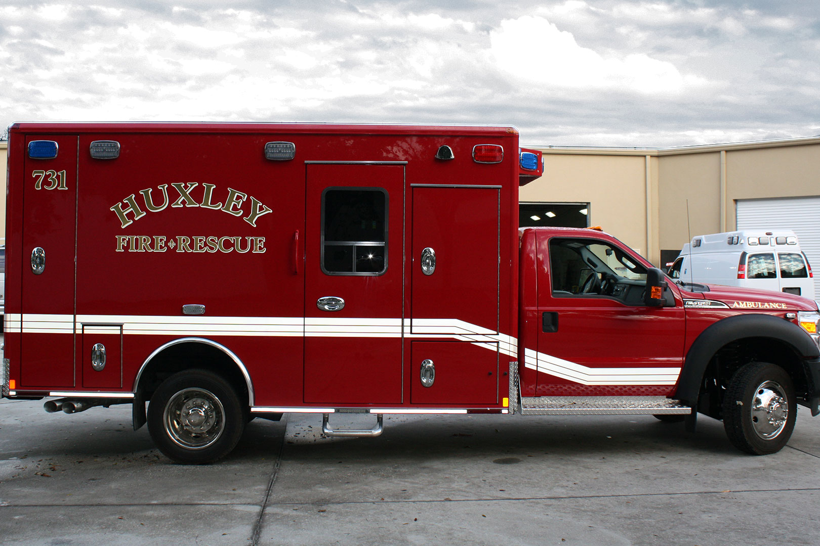Huxley Ambulance by 24Seven Graphic Design & Supply, Inc.