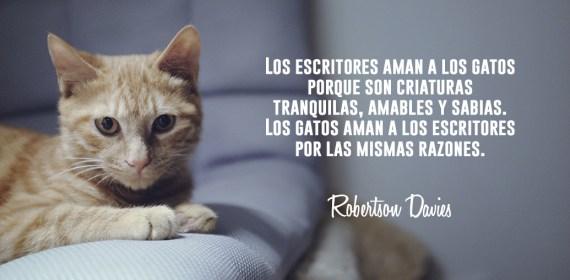 Citas de gatos, Robertson Davies