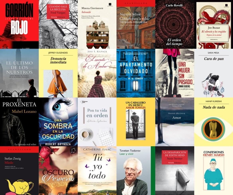 Los mejores libros de 2018