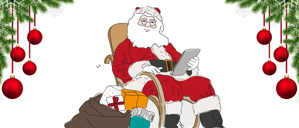 Libros y citas de navidad