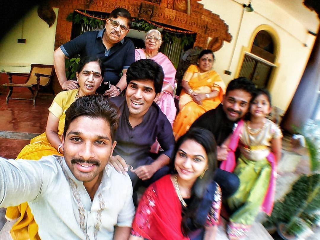 Allu Arjun Family Photos  Stylish Star Wife Sneha Reddy and Son Allu Ayaan Bunny  25CineFrames