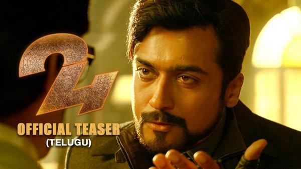 Actor Surya 24 Official Telugu Movie HD 1080P Teaser