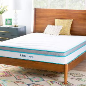 LinenSpa 10 Inches Memory Foam And Innerspring Hybrid Twin Mattress – Best Hybrid