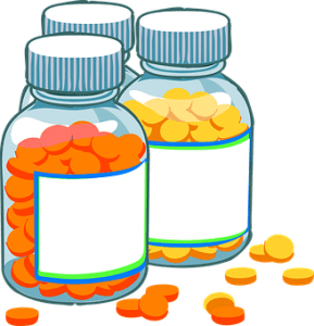 Prednisone Tablets in a Bottle