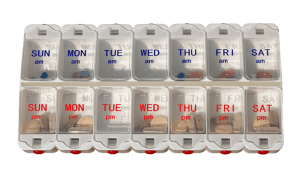 Use a Pill Box To Remember Your Vitamin D Supplement