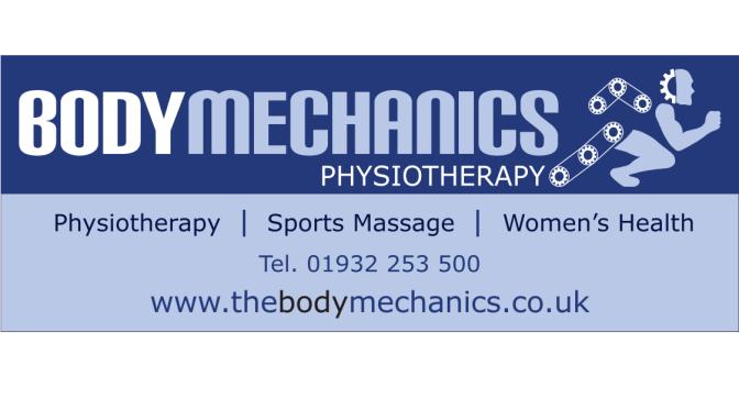 Bodymechanics Physiotherapy at Valentine's 10k
