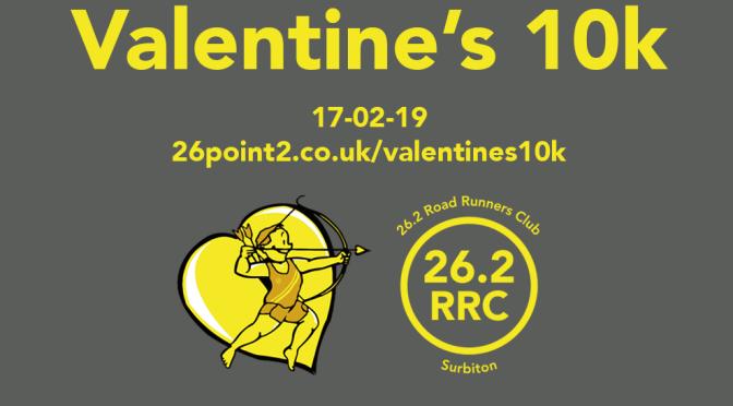Valentine's 10k – 17th February 2019