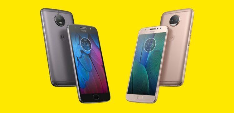 """موتورولا تكشف النقاب عن هاتفي """"G5S Plus """" و """"G5S"""""""