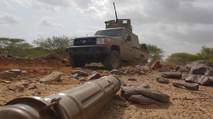 مصرع وجرح 50 حوثيا بنيران أبطال الجيش في مريس بالضالع