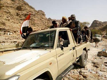 قوات الجيش تُفشل تسللا للمليشيا شمالي الضالع