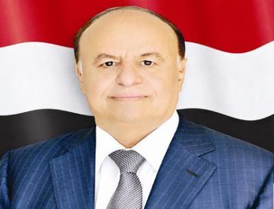 رئيس الجمهورية يعزي في استشهاد العقيد احمد محمد أبو هادي