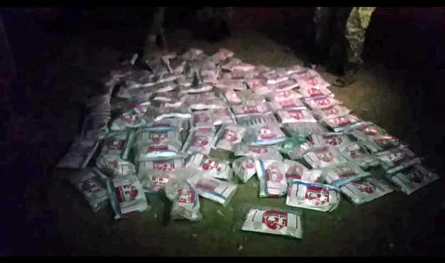 الأمن يضبط كميات كبيرة من مادة الحشيش المخدر بالبيضاء كانت في طريقها للميلشيا