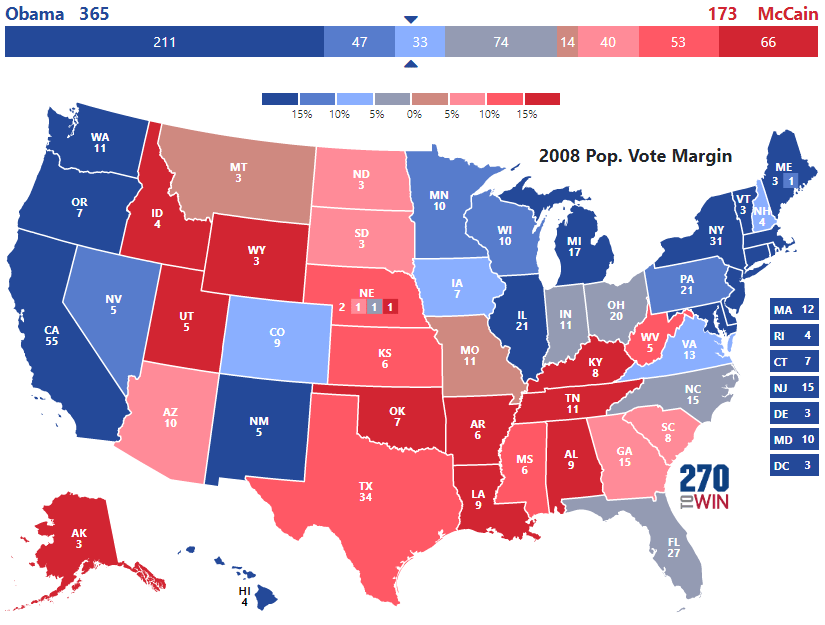 presidential election of 2008