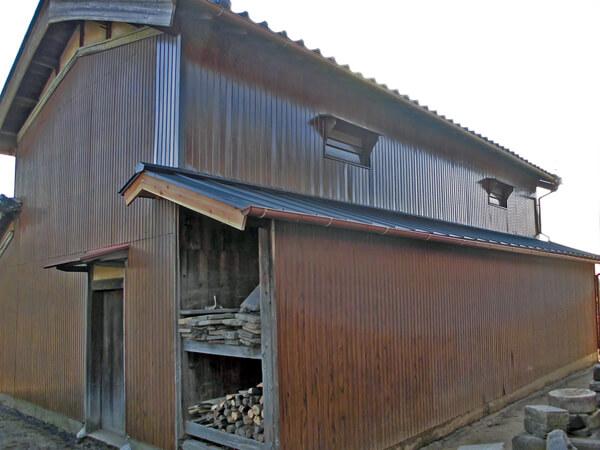 倉庫壁改修 K町 T様邸