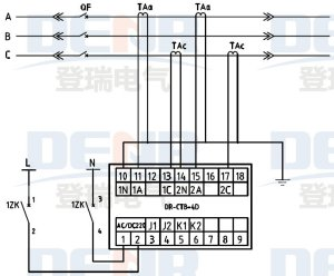 CT secondary overvoltage protector  Products  Electrical Co, Ltd Yueqing Dengrui