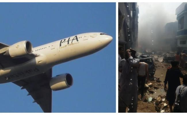 Pakistan International Airlines Passenger Plane Crashes In